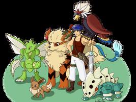 IKE - Pokemon Team - by LeahFoxDen