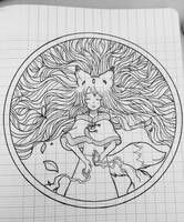 - Paper Version - Give me your strength, Yggdrasil by LeahFoxDen