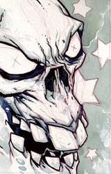Eric Talbot - skull by erictalbot