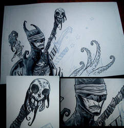 Eric Talbot artwork Batman by erictalbot
