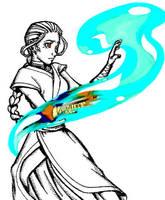The Waterbender by FieryStampede