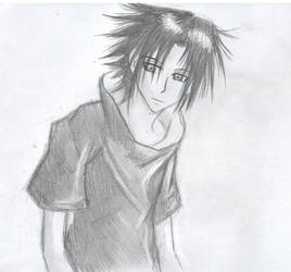 Sasuke Sketch by BakaRach