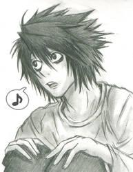 L Sketch by BakaRach
