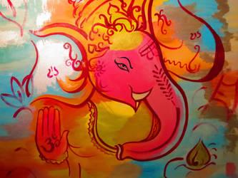 Ganesha by Zespar