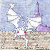 Count Frogula in bat form by Scellanis