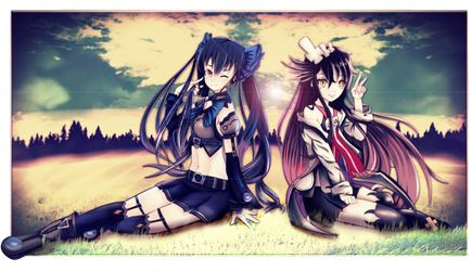 Noire and Faust by Hekatia