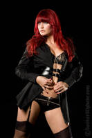 Sharon TK - black lingerie2 by DastardlyDave