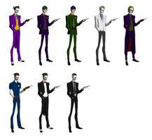 Jokers by Majinlordx
