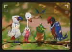 birdwatching - gatchaman fanart by Entropician