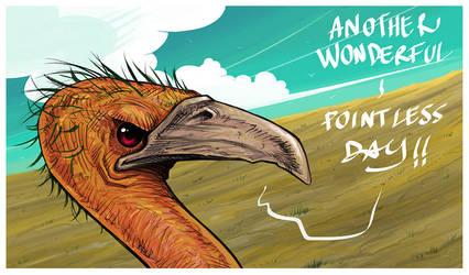 bad bird! by Entropician