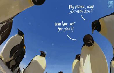 Penguinz by Entropician