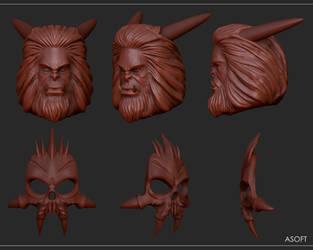Asoft 3d sculpt by Entropician