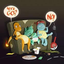 Pokemon No by Entropician