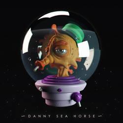 Danny  seahorse by Entropician