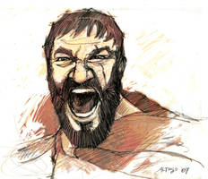 King Leonidas by ChristineAltese