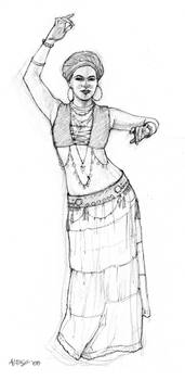 Dancer Pose 1 by ChristineAltese