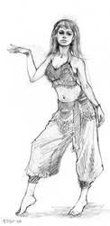Dancer Pose 2 by ChristineAltese