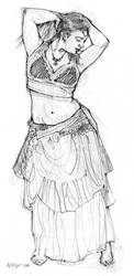 Dancer Pose 3 by ChristineAltese