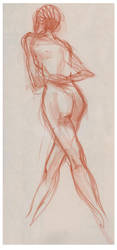 Life Drawing 6 by ChristineAltese