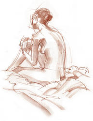 Life Drawing 9 by ChristineAltese