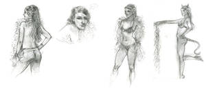 Dr. Sketchy's :: Aug. 2011 by ChristineAltese
