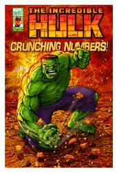 Hulk--Crunching Numbers by ChristineAltese