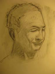 Male Portrait 1 by londerwost