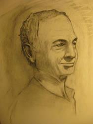Male Portrait 2 by londerwost