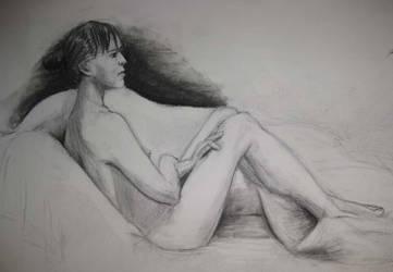 Second Week Female Nude 02 by londerwost