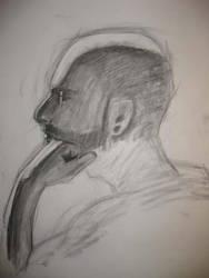 Third Week Male Portrait 01 by londerwost