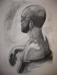 Third Week Male Portrait 02 by londerwost