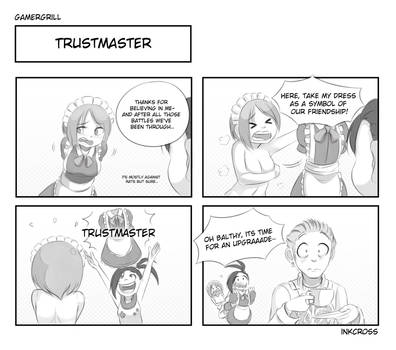 Gamergrill: Trustmaster by kaiyuan