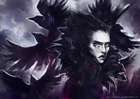 Lady of sorrows by Meggie-M