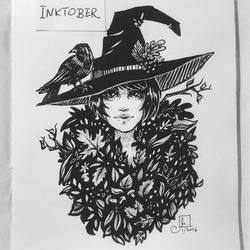 Inktober day 1 by Meggie-M
