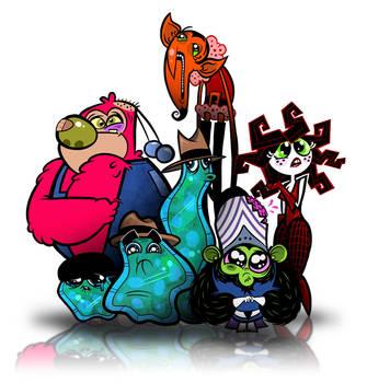 powerpuff villains by chunkysmurf