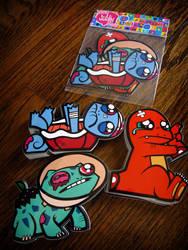 pokemon sticker starter pack by chunkysmurf