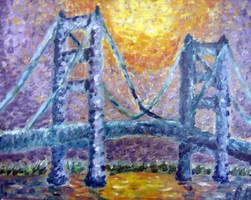 Mackinac Monet by RoccoBertucci