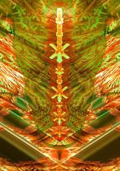 3D Mandelbrot set - Zoom in, No. 02-B by Metafractals