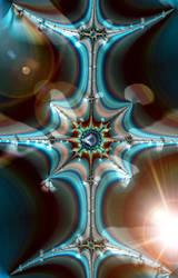 Beyond the Matrix, No. 03 by Metafractals