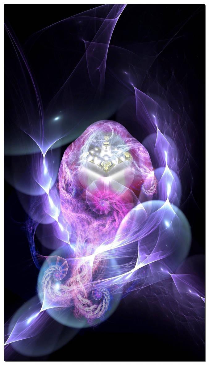 The Mermaid's Egg by Metafractals