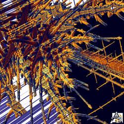 Tetrabrot Zoom in, No. 06-A by Metafractals