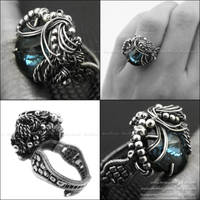 MONTANA BLUE SECRET - ring III by AnnaMroczek