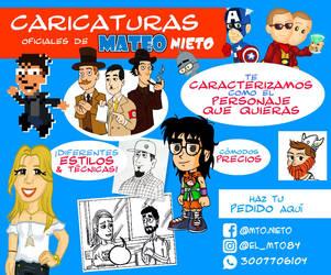 Caricaturas by eruan84