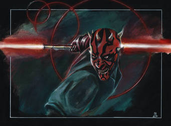 Darth Maul by Andy-Ask