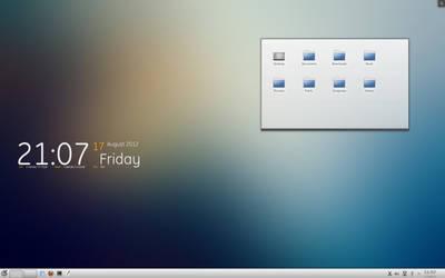 Arch Linux KDE by beta992