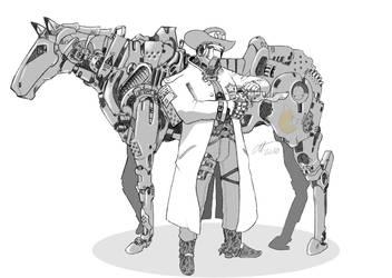 Western Meets Scifi by DesertFox85