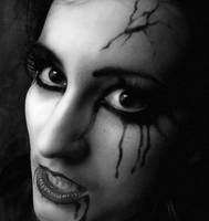 Vampire face by MellWerr