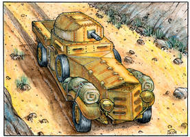 Rolls Royce Armoured car 3 by Frohickey