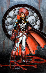 Captain Harlock is Cool by Frohickey