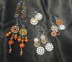 Steampunk Earrings by Frohickey